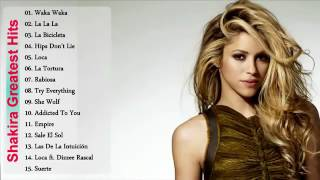 Shakira New Songs 2016   Shakira Songs In English   Shakira Dance Songs Top Cover
