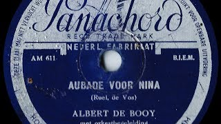 Watch Albert De Booy Aubade Voor Nina video