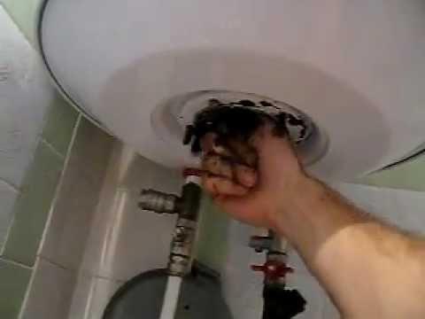 Чистка бойлера своими руками фото