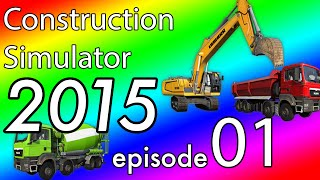 Construction Simulator 2015 - Career Multiplayer - EP:1