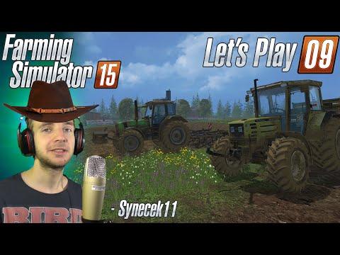 [60FPS] Farming Simulator 15 ► Let's Play Česky ► #09 ► Náročný balíkovač ► synecek11