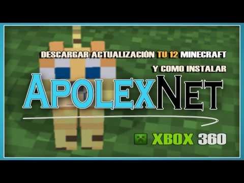 Descargar Actualizacion TU 12 minecraft-XBOX 360-USB