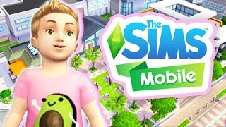 WE HAVE A TODDLER!😍 // THE SIMS MOBILE #7