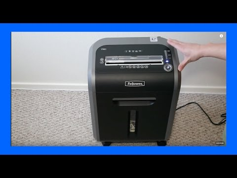 Reviewed- Fellowes Powershred 79CI Shredder