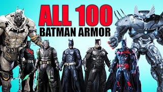 All 100+ BATMAN ARMORS Explained