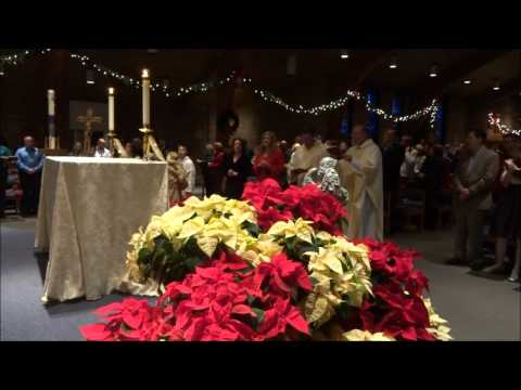 Our Lady of Victory Christmas Eve Mass Ending