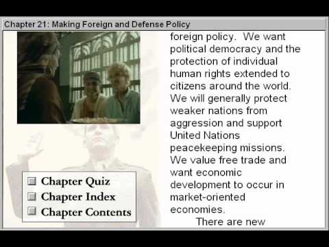 Making Foreign and Defence Policy (Government By The People Part 21)