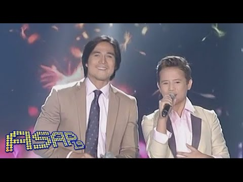 Toni, Piolo sing with Darlene & Juan Karlos on ASAP