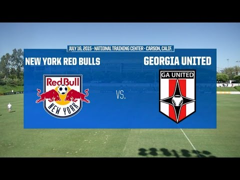 Development Academy Semifinal - U-15/16: New York Red Bulls vs. Georgia United - July 16, 2015