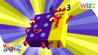 Numberblocks - NEW EPISODES! | What's the Difference, Building Blocks & More | Learn to Count | Wizz
