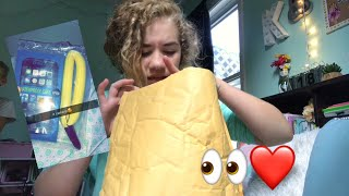 unboxing my waterproof phone case! (live footage) day #623