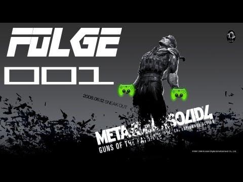 Let's Play Metal Gear Solid 4 #001 [deutsch hd] - Old Snake video