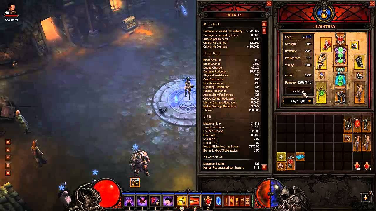 Diablo  Demon Hunter Shadow Power Build