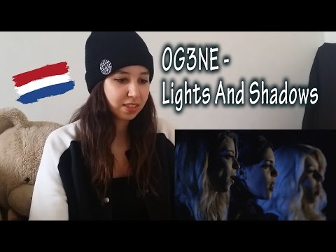 OG3NE - Lights And Shadows (The Netherlands) Eurovision 2017 _ REACTION