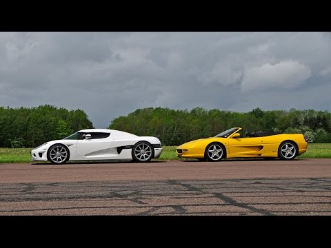 DRAG RACE - Supercar v Hypercar