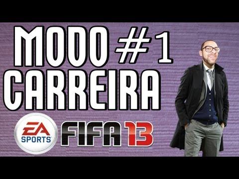 FIFA 13 Modo Carreira: Milhões de Euros Iniciando #1