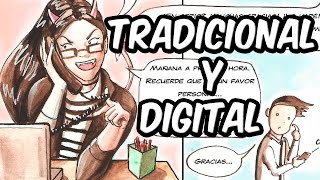 Cómic, Tradicional y digital |  Comic, Traditional and digital