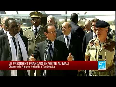 Mali : intervention de François Hollande et Dioncounda Traoré