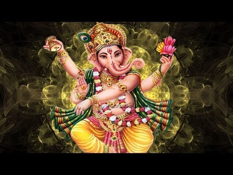 Om Gan Ganapataye Namo Namah - Ganesh Mantra With Lyrics video