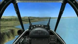Accu Sim p51d takeoff and landing
