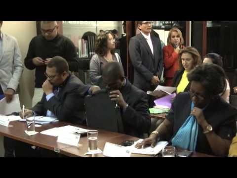 Taller de intercambio de experiencias y conocimientos entre el CNE y misión de Haití