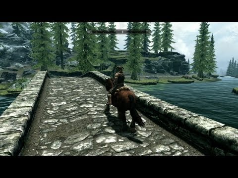 The Elder Scrolls V: Skyrim - Introduction Gameplay (PC. PS3. Xbox 360)