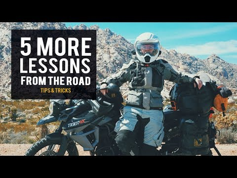 Five More Lessons from the Road | Tips & Tricks