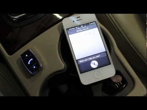 Automotive Handsfree Siri with Con-Verse by Rostra and iPhone 4S