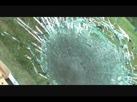 Armor Piercing 7.62x54r vs. Bulletproof Glass