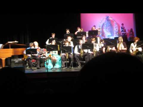 Bristow High School Jazz Band - You're a Mean One, Mr Grinch, 12/15/13