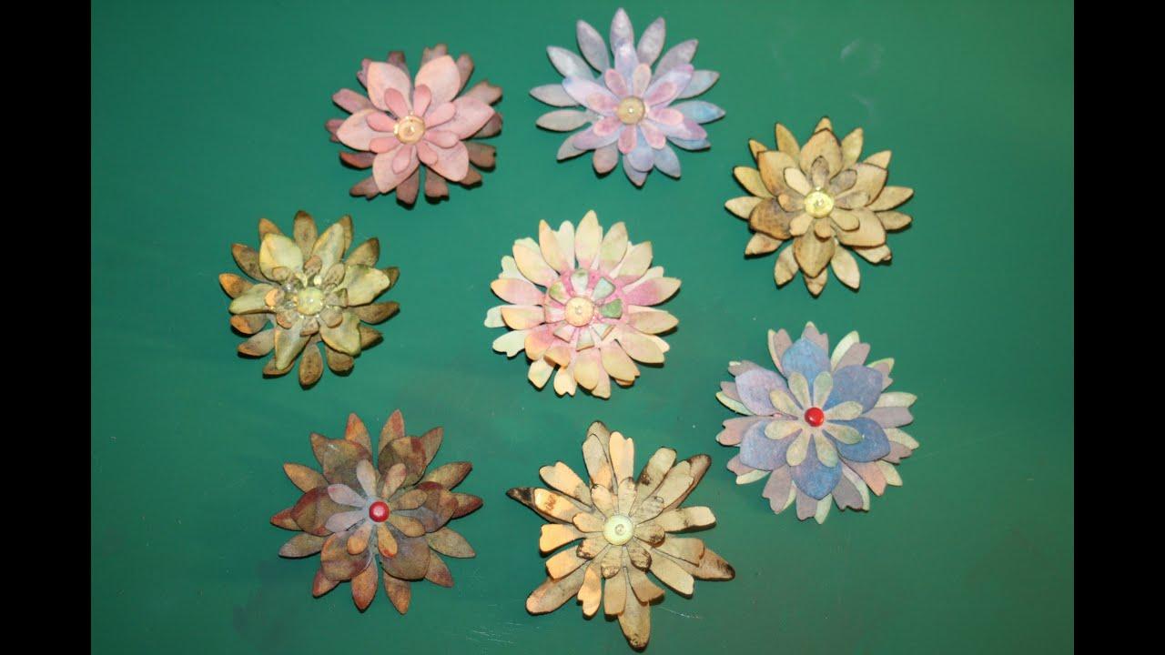 Papierblumen, Blumen aus Papier, kinderleicht - YouTube