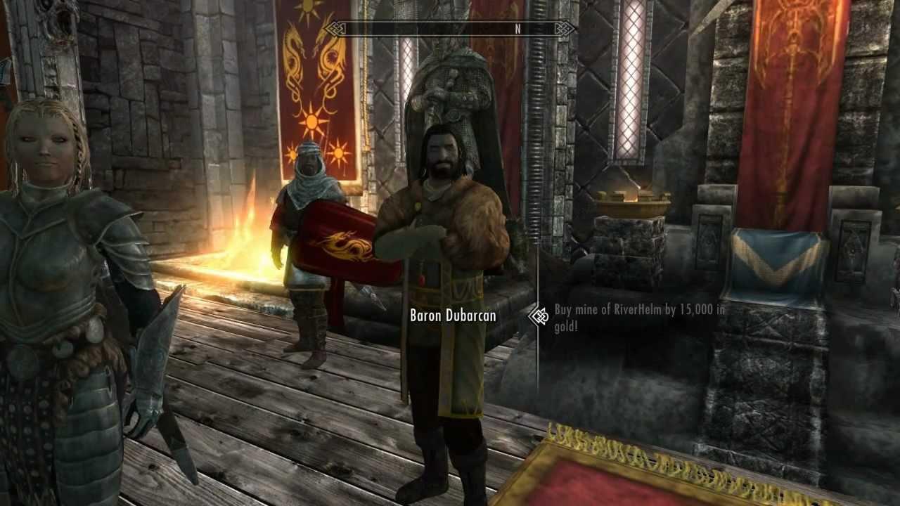 comment devenir roi dans skyrim