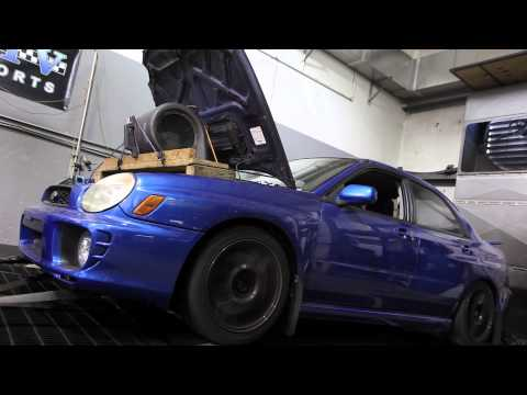 2003 Subaru WRX (with JDM EJ207 motor) dyno run