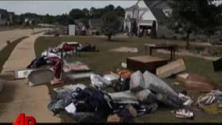 Thumb Como quedaron las casas y los muebles después de la inundación de Georgia