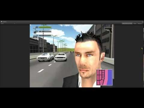 DRIV3R - Unity3D test of a custom version of Tanner wearing a black suit