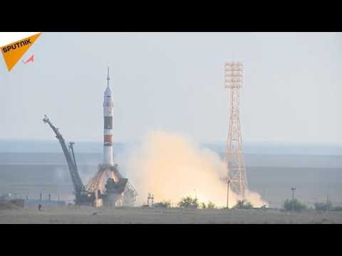 Russian Soyuz Spacecraft Is Successfully Launched to the ISS
