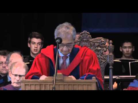 Honorary Degree Ceremony and Address for Dr. Amartya Sen, UBC - April 21, 2011 [1 / 2]