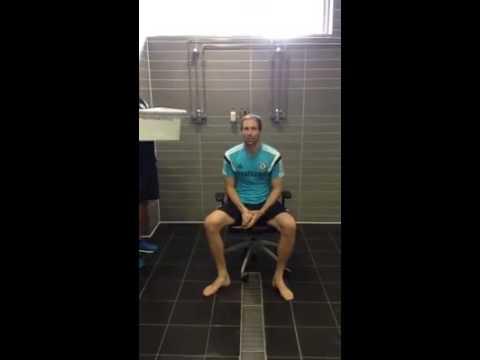 Petr Cech Ice Bucket Challenge ALS