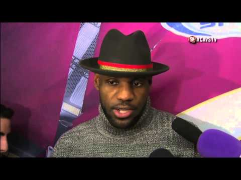 LeBron James Postgame Interview vs Chicago Bulls - Oct. 31st 2014