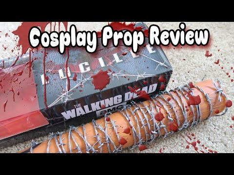 Official [The Walking Dead] Lucille Negan Cosplay Prop by Mcfarlane Toys | Review 💀