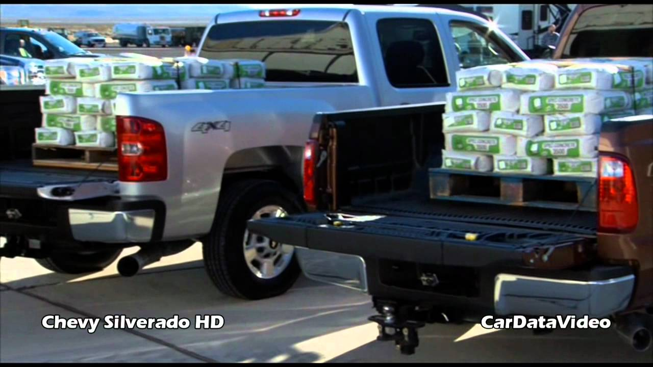 Chevy Silverado Hd Pickup Payload Test Vs Ford Superduty