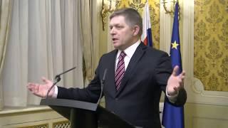 Priamy prenos: Fico rokoval s veľvyslancami USA a Únie