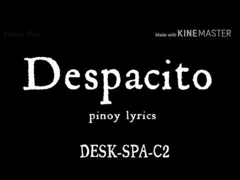 Despacito (tagalog lyrics)