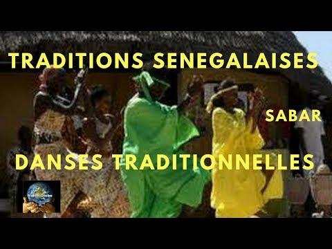 Afrique Traditions Sénégalaises danse Sabar lutte sportive Sénégalaise