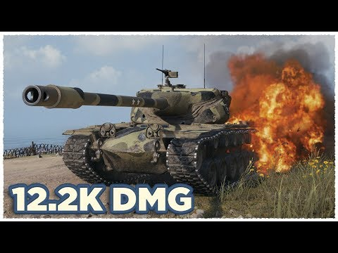 T57 Heavy Tank • 12.2K damage per battle • WoT Gameplay