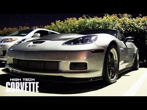 800+hp Flame Throwing Vette