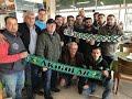 Akhisarspor ile Bursaspor taraftarları arasında buzlar eridi