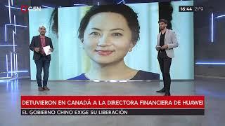 Detuvieron a la hija del fundador de Huawei