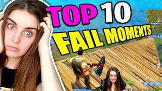 Top 10 Fortnite Fail Moments (Stream Highlights #1)