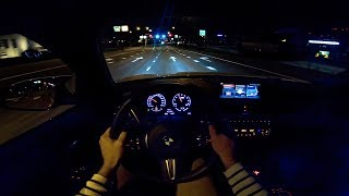 2019 BMW M2 COMPETITION POV NIGHT DRIVE by AutoTopNL